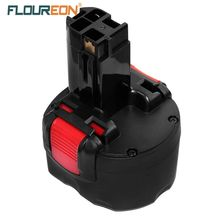 For Bosch 9.6V 2000mAh FLOUREON BAT048 Rechargeable Battery Pack Powr Tools Batteries for PSR 960 2 607 335 272 32609-RT Ni-CD