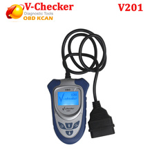Hot Selling!! Professional OBD2 scanner  with Canbus  V-Checker V201  fit for OBDII with canbus free shipping