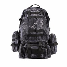 55L Tactical Military MOLLE Assault Backpack Pack Large Waterproof Bag Rucksack Sport Outdoor Bag for Hunting Camping(China)