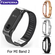 Buy Original Xiaomi Miband 2 Wristband Mijobs Metal Belt Strap Mi Band Bracelet Replacement Band Accessories Wrist for $7.99 in AliExpress store