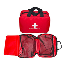 25*18*8cm Outdoor Sports Camping Home Medical Emergency Survival First Aid Kit Bag Top quality(China)