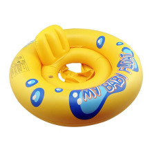 Baby Sit Float Ring Swimming Pool For Children Baby Swimming Ring Baby Water Seat Separate For 0-3 Years Old Kids Yellow Color(China)