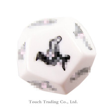 3 Pcs Funny Sex Dice 6/12 Positions Sexy Romance Love Humour Gambling Adult Games Erotic Craps Pipe Sex Toys For Couples sex toy