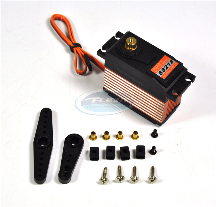 1pc New Supersonic CYS S8218 40KG Torque Digital Metal Gear Servo 0.18s 38kg For 1:5 RC Model<br>