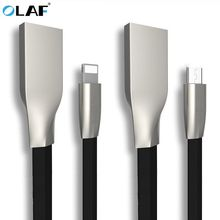 Buy Olaf 3D Zinc Alloy Fast Micro USB Cable iphone Xiaomi Huawei HTC Sony Android Data fast Charging Cable Samsung LG phone for $3.99 in AliExpress store