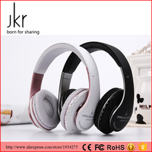 JKR Wireless Auriculares Bluetooth Headphones Earphone Headset FM TF Handsfree With Mic for ios Android Smartphone Table PC