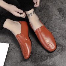 f2753978981 Mens Casual Walking Shoes PU Leather Comfortable Slip on Loafers Fashional  Lightweigh for Business Dress Work Outdoor Moccasins