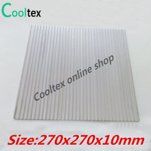 High power 270x270x10mm Aluminum HeatSink Heat Sink radiator for electronic Chip LED COOLER cooling Recommended