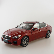 New 1/18 Infiniti Q50 Q50s 2015 Red Diecast Model Cars Hot Selling Alloy Scale Models Limited Edition
