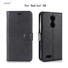 Buy HUDOSSEN OUkitel C8 Case Luxury Phone Protective Case Coque Oukitel C8 C 8 Book Flip Cover Wallet PU Leather Bags for $3.99 in AliExpress store