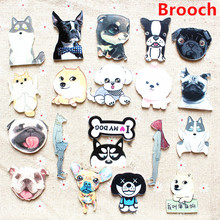 Pet brooch, French Bulldog, fashion popular badges, pins, pet accessories wholesale stores, jewelry for women