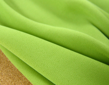 "Buy 2 meters 148cm 58.26"" width tea green chiffon fabric pearl yarn fabric summer dress materials MM144 for $18.99 in AliExpress store"