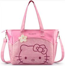 2017 Hello Kitty Cute Large Capacity Handbag Neverfull Designer Handbags High Quality Purse Women Bag Free Shipping Tote Bag
