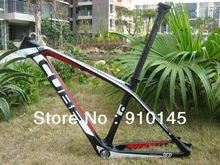Hot Sales ! Free Shipping ! Cube Reaction GTC 26 Mountain carbon frame Red/White/Black
