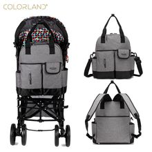 Colorland Baby Nappy Diaper Mummy Maternity Travel Bag Organizer Backpack Baby Stroller bag mom handbag mother messenger bags
