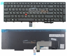 New For Lenovo IBM Thinkpad E531 E540 W540 L540 T540 T540P T550 04Y2426 0C44991 US Layout Keyboard Black Color(China)