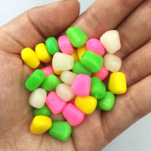 Promotion!  100 PC/lot 0.43g Fishing lure soft Floating Pop up coarse corn lure for Carp Soft fishing lure corn Corn Soft Baits