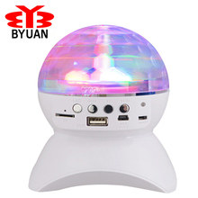 Party/ Disco DJ Bluetooth Speaker With Built-In Light Show,Stage & Studio Effects Lighting, RGB Color Changing, LED Crystal Ball