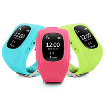 Hot selling Q50 alarm clock gps tracker wrist watch cell phone smartwatch android watch for children(China)