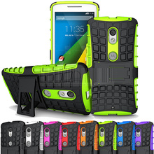 Rugged Armor Kisckstand TPU+PC Case Hard Cover For Motorola Moto X Play/Moto X Style/Pure Edition/Moto X force/Droid Turbo 2
