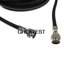 Black N male 10 Meters GSM Booster Repeater Cable N-type Antenna Cable for Connecting signal repeater to outdoor /indoor antenna
