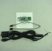 5 wire Resistive LCD touch screen panel controller RS232 serial port(China)