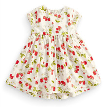6 Years Girls Summer Casual Dress Red Toddler Dresses Summer Vestido Princesa Bonpoint Tide Baby Girl Dress 1 Year Birthday