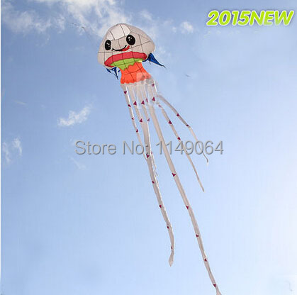 free shipping high quality 8.5m Jellyfish soft kite ripstop nylon fabric kite weifang festival hcxkite factory large kite<br><br>Aliexpress