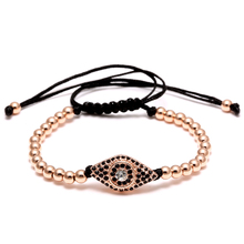 Buy Fashion Evil Eye Charm Bracelet Stainless Steel Beads Leather Bracelet Men Women Daily Casual Jewelry Accessory for $1.39 in AliExpress store