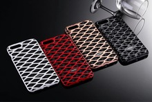 2017 new luxury Bee net Armor Heavy Dust Metal Aluminum+tpu protect shell case  For iphone 5 5s 6 6s 7 7 plus
