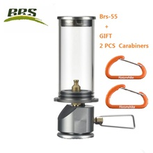 BRS brs-55 Gas Camping Lantern Camp Equipment Gas Candle Lights Lamp for Ourdoor Tent Hiking Emergencies(China)