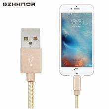 SZHXNOR USB Charger Cable for iPhone 5 5s 6 6s 7 8 X 7S plus SE ipad air mini Wire 1m Car Fast Charging cord Mobile Phone Cables(China)
