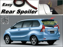 Root / Rear Spoiler For TOYOTA Avanza For Daihatsu Xenia Trunk Splitter / Ducatail Deflector For TG Fans Easy / Free Modeling