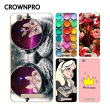 CROWNPRO Soft TPU Silicone ZTE Blade A610 Case Cover Colorful Printing Cell Phone Protector Back ZTE A610 Case Cover A 610
