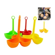 3 Egg Holder Boiler Cooking Egg Boiler Cooker Holder Poacher Dipper Boiler Accesorios De Cocina Cooking Kitchen Appliances