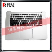 NEW Genuine A1502 Topcase 2013 2014 For Macbook Pro Retina 13'' Palmrest Top Case US Keyboard Backlight Touchpad Trackpad(China)