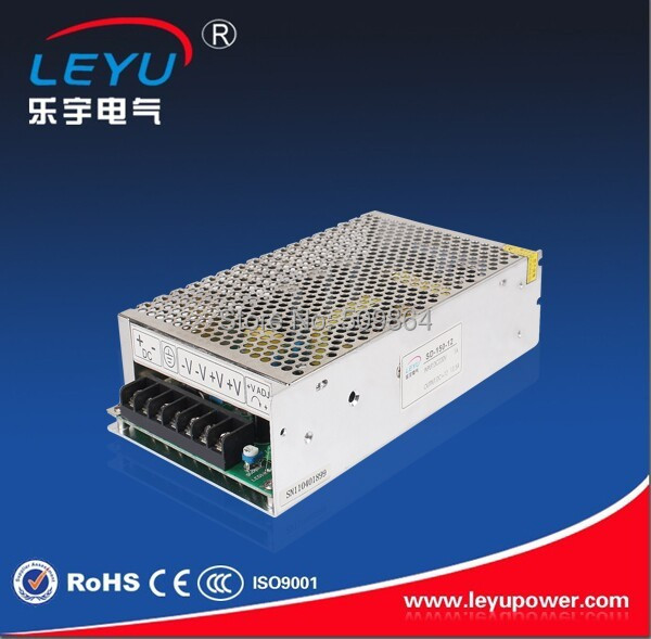 Enclosed 150w 96vdc 2.7a to 12vdc 12.5a for indoor using 12v LED converter<br>