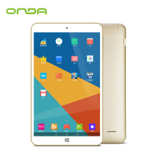 "New Arrival 8.0"" IPS Onda V80 Plus Windows10+Android 5.1 Dual OS Tablet PC Intel X5-Z8300 Quad Core 2GB/32GB Dual Camera HDMI"