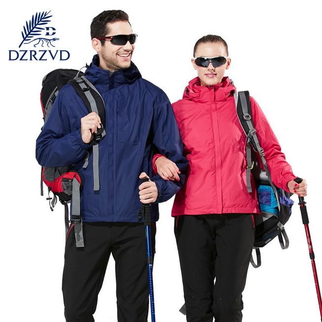 Outdoor Climbing Hiking Down Jacket Waterproof Warm Breathable Ski-wear Adventure Snowboarding  Camping Two-piece Sport Jackets<br><br>Aliexpress