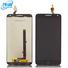 1pcs Black Full LCD display+touch screen digitizer assembly For Alcatel One Touch Pop 3 5.5 OT5025 5025D 5025 Free Shipping(China)