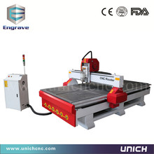 Most popular 1300*2500mm t-slot or vacuum table cnc router machine