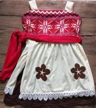 Birthday Girls Moana Princess Dresses Children Cotton Party Kids 2018 Summer Mermaid Mickey Minnie Snow White Custom Dresses