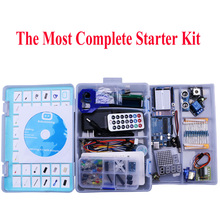 Elego UNO Project The Most Complete Starter Kit for Arduino Mega2560 UNO Nano with Tutorial / Power Supply / Stepper Motor(China)