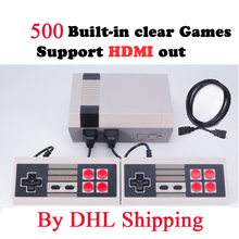 5-120pieces HDMI Out Retro Classic Game Player Family TV Video Game Console Built-in 500 Games with 2 Gamepads PAL&NTSC HDMI Out(China)
