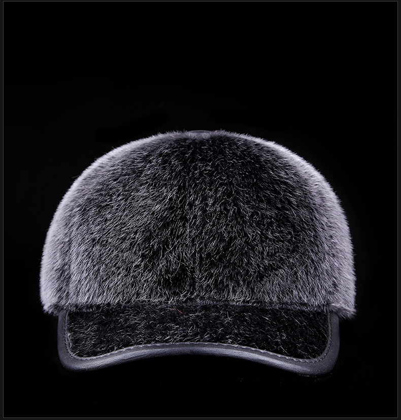 Wholesale 2017 Winter Male Imitation Seals Wool Solid Casual Unisex Faux Fur Adjustable Baseball Cap Hat For Man Free Shipping<br><br>Aliexpress
