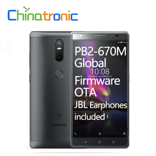 "Original Lenovo Phab 2 Plus PB2-670N Global Firmware 4G FDD LTE Mobile Phone Android 6.0 Octa Core Dual SIM 6.44""FHD 3G 32G OTA"