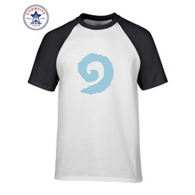 2017 Funny Graphic Funny Hearthstone Swirl Logo DJ Funny T Shirt for men