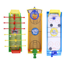 Fingers Basketball/Soccer/ice hockey Kids Education Toys For Children Board Brain Hand-Eye Coordination Train Indoor Sport Toys(China)