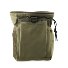 Camouflage Bag Military Waist Molle Pack Weapons Tactics Outdoor Sport Bag Hunting Folding Mag Recovery Dump Small Pouch