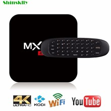 MXQPro+ Smart Android tv box Amlogic S905 Quad core RAM2G+ROM16G Android 5.1 SET TOP BOX 3D 4K KODI Full HD Media Player 64 bit